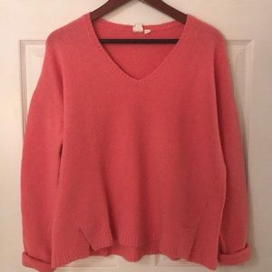 Pink wool sweater from Gap